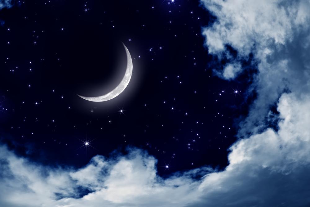 luna falce stelle