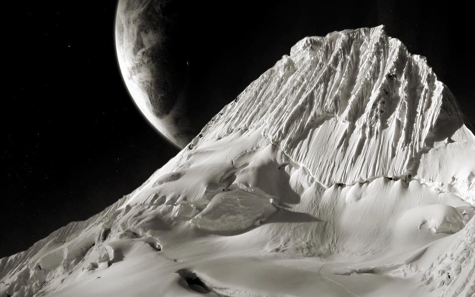 luna montagna