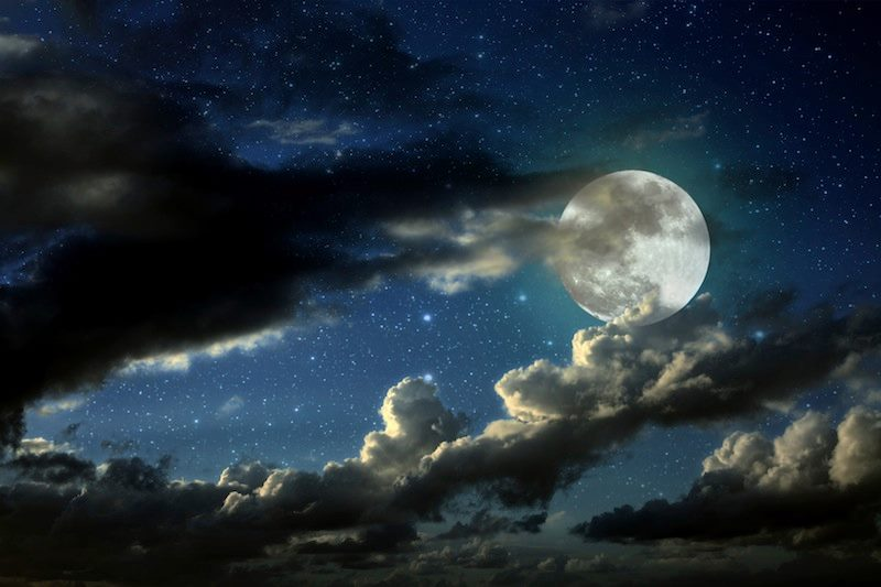 luna nuvolone