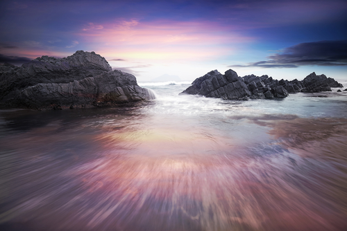 mare tramonto