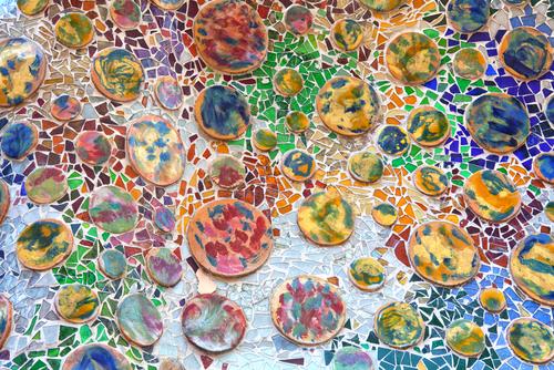 mosaico barcellona