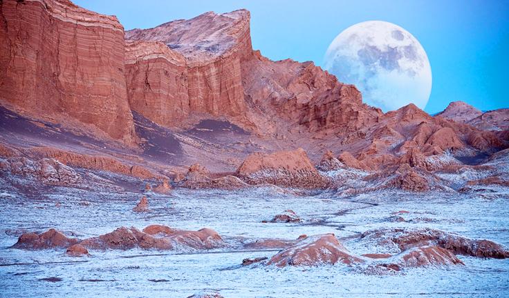 natural paradise valle de la luna chile