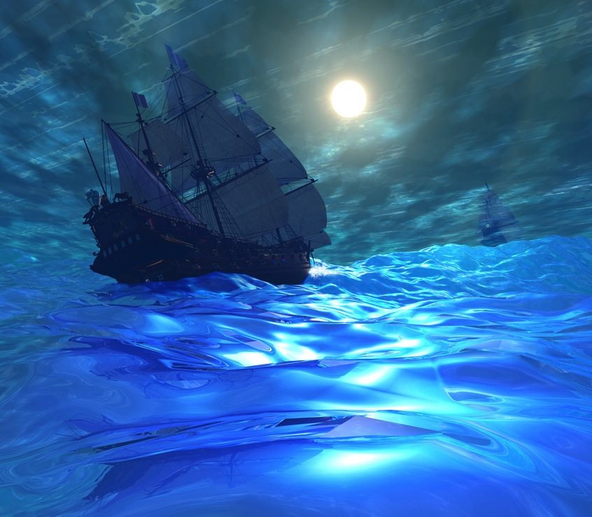 nave blu