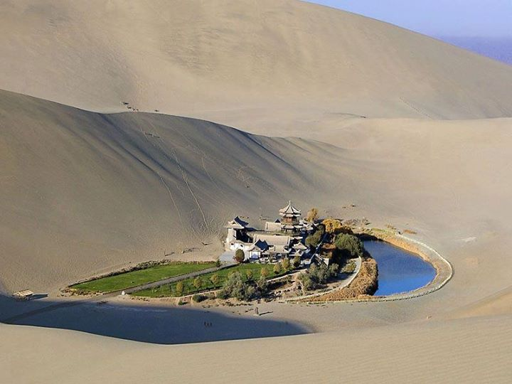 oasi desert luna