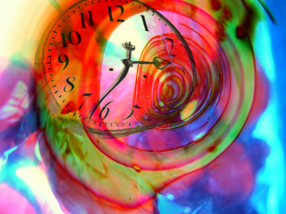 orologio colorato