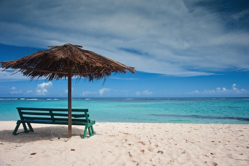 panchina spiaggia