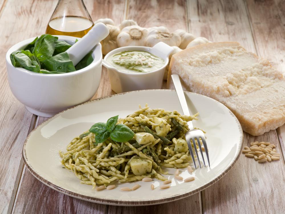 pesto trofie typical genoa recipe liguria