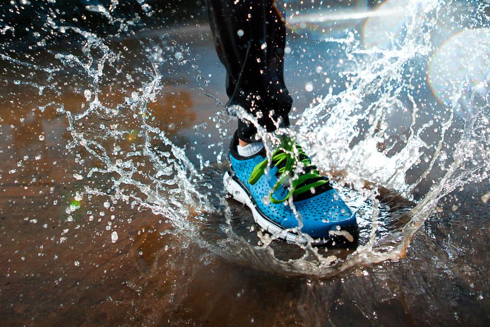 pioggia scarpa