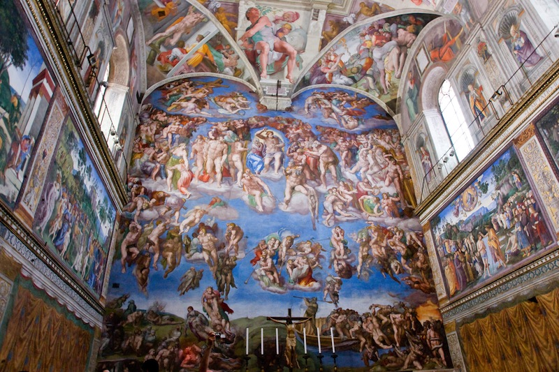 pittura vaticano 2