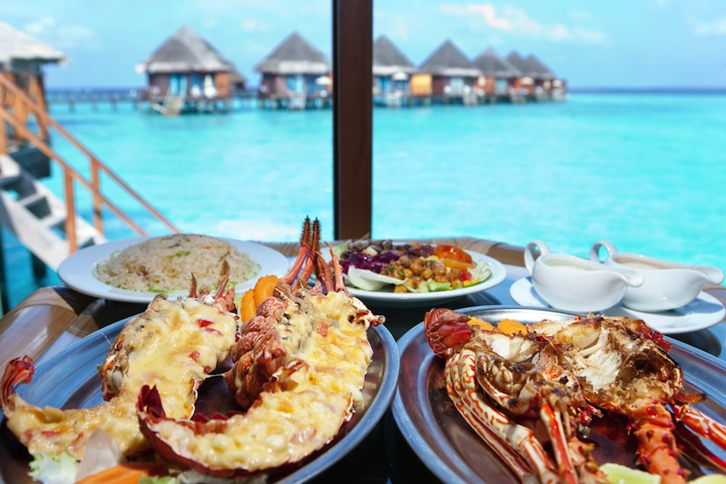 pranzo maldive