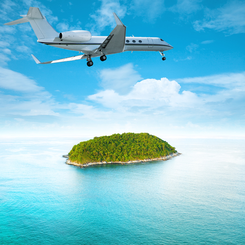 privato jet isola