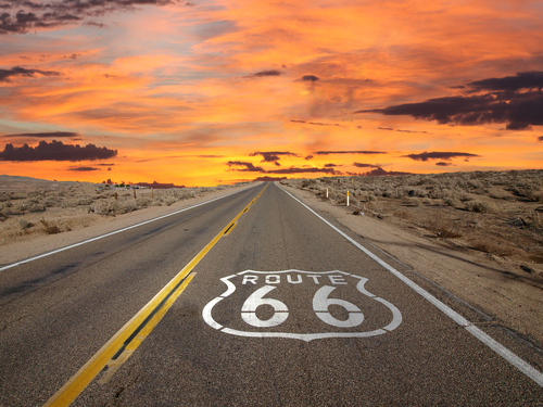 rout 66 californialos angeles