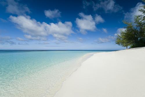 s Denis private island Indian Ocean