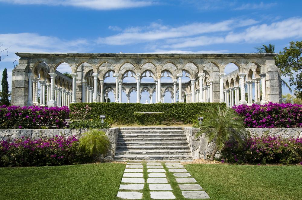 sVersailles Gardens on Paradise Island in the Bahamas