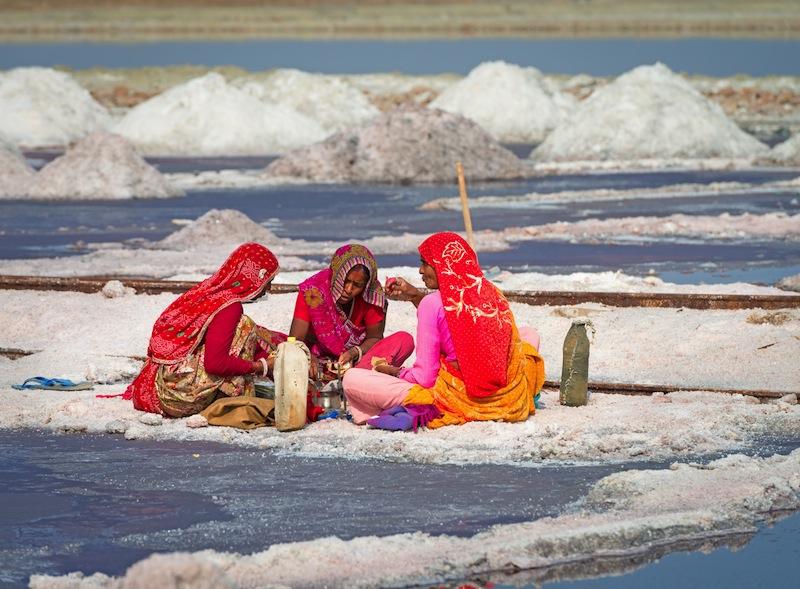 sambhar lake india pranzo