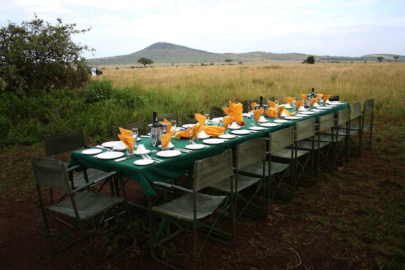 serengeti tanzania pranzo