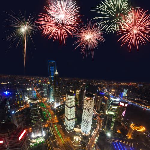 shanghai anno nuovo