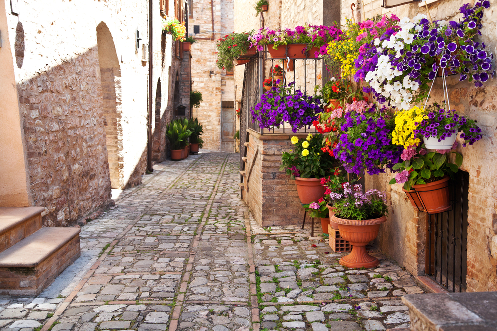spello medieval town in italy umbria