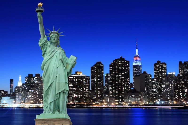 statua libertà new yorkn