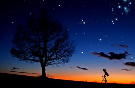 stelle luan telescopio