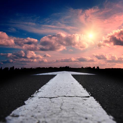 strada freccia