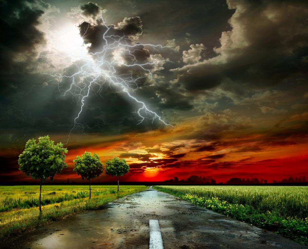 strada lampi