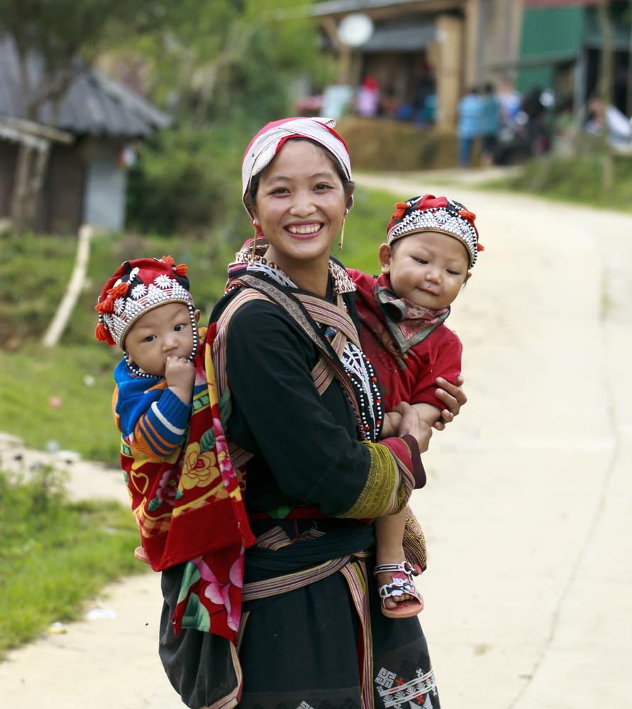street in Sapa Vietnam o