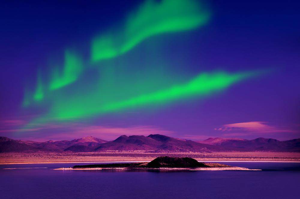 sunrise and sunset iceland aurora