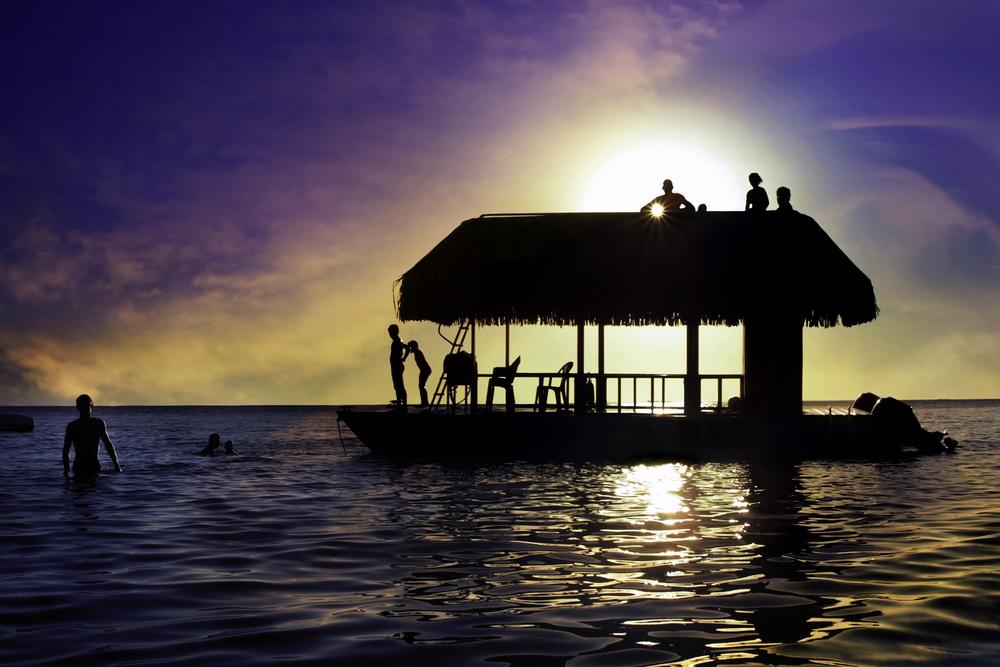 sunset polinesia