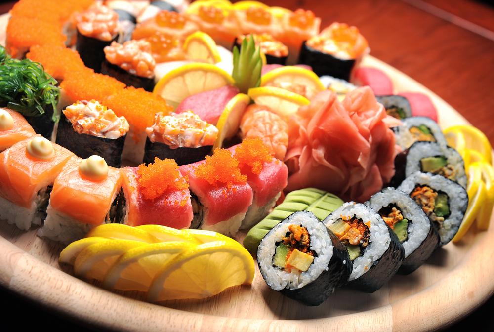 sushi giappone