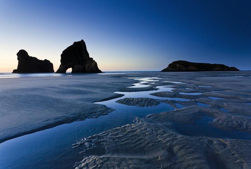 t Wharariki Beach Nelson North Island New Zealand