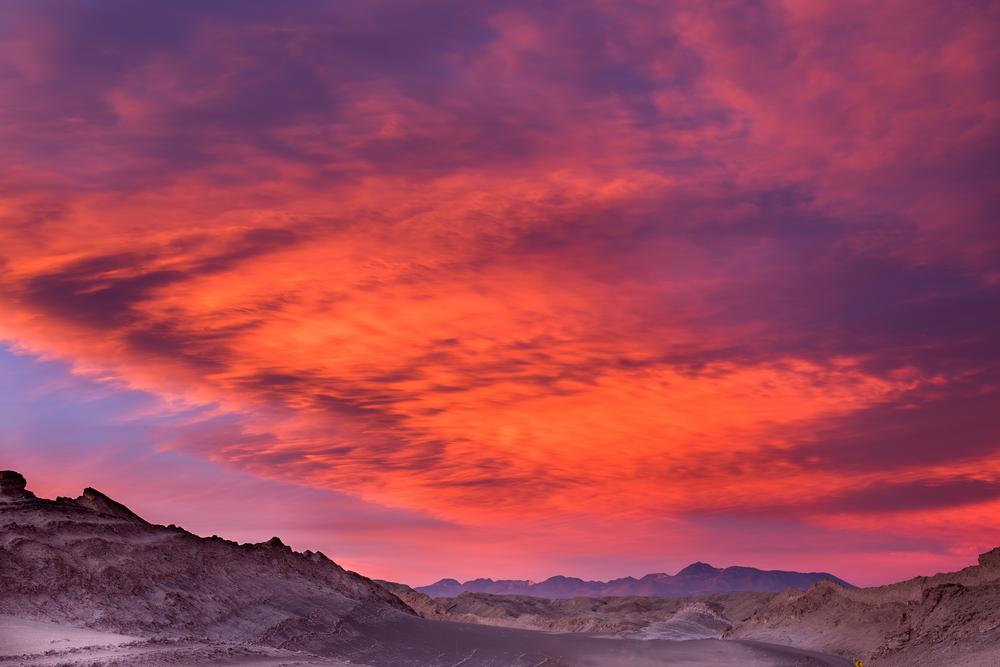 the moon valley Atacama desert Chile