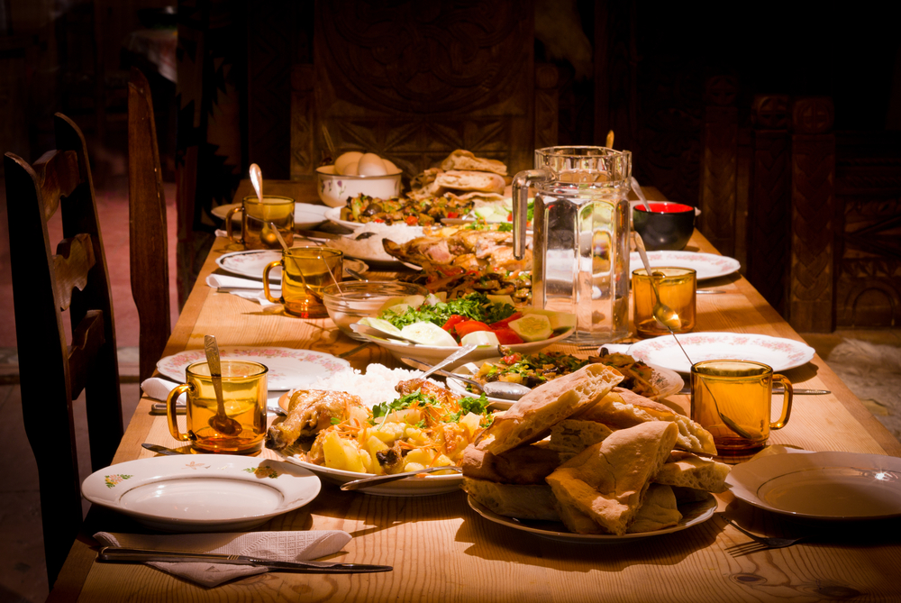 traditional Georgian food