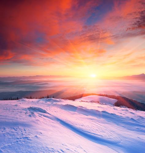 tramonto alasska