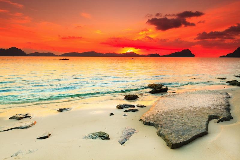 tramonto filippine