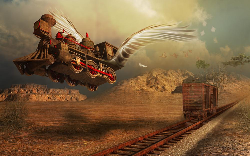 treno magico