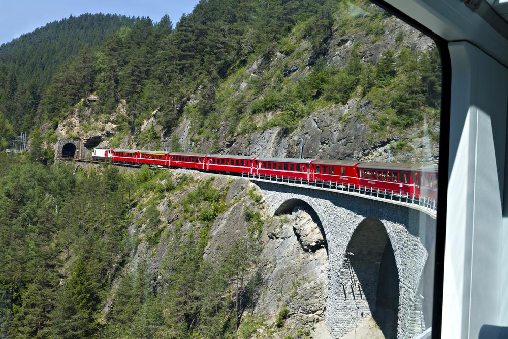 treno svizzera