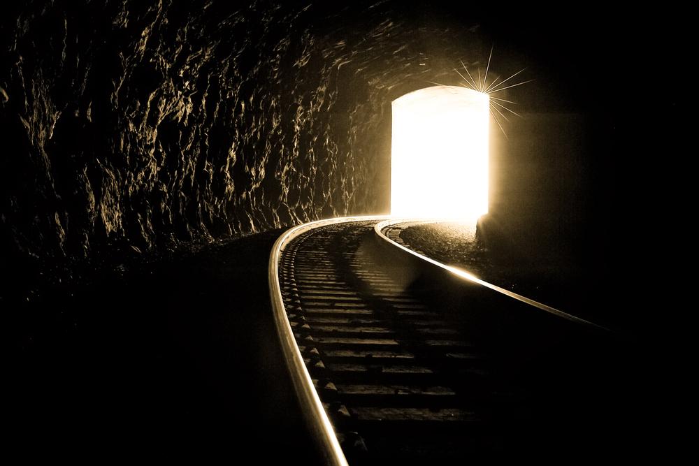 treno tunnel