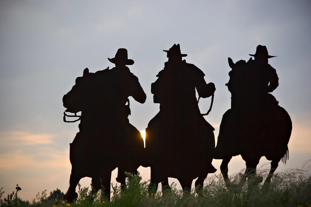uomini cavalli
