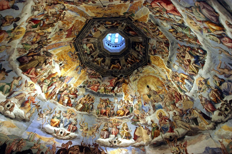 wonderful masterpiece of The Judgment Day inside the Dome