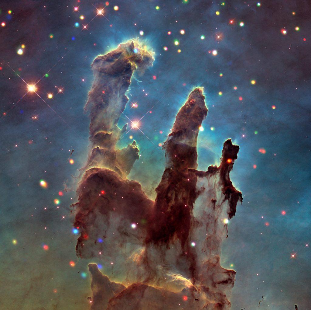 X ploring the Eagle Nebula and Pillars of Creation