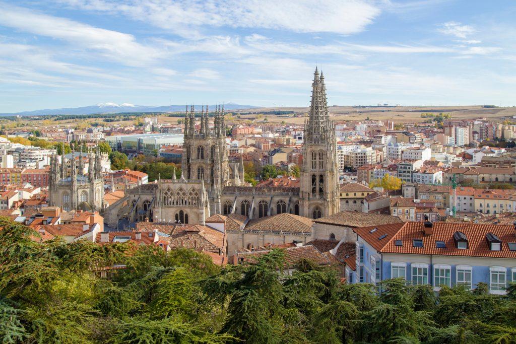 Cattedrale di Burgos Cammino di Santiago