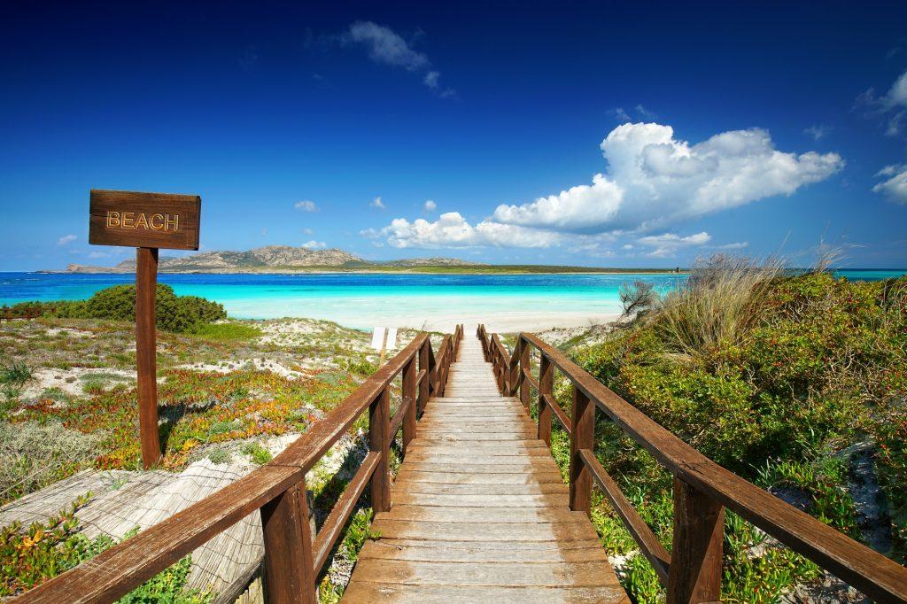 La Pelosa Stintino Sardinia island 1