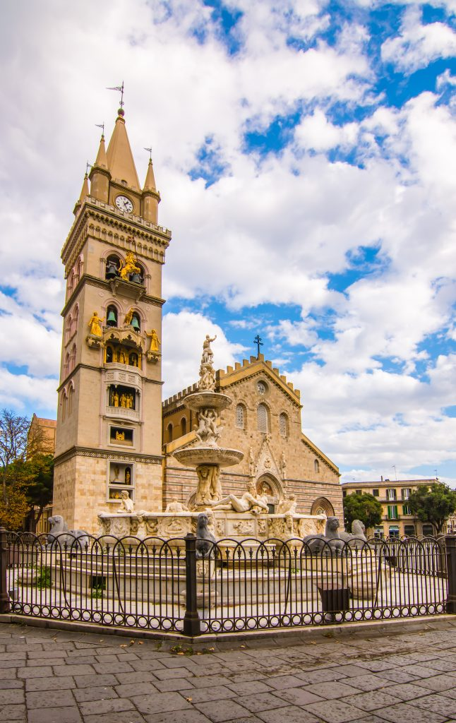 cathedral messina sicily italy