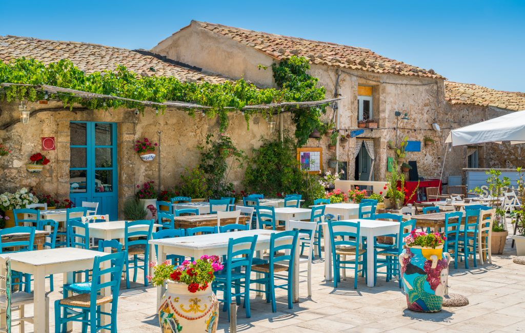 picturesque village marzamemi province syracuse sicily