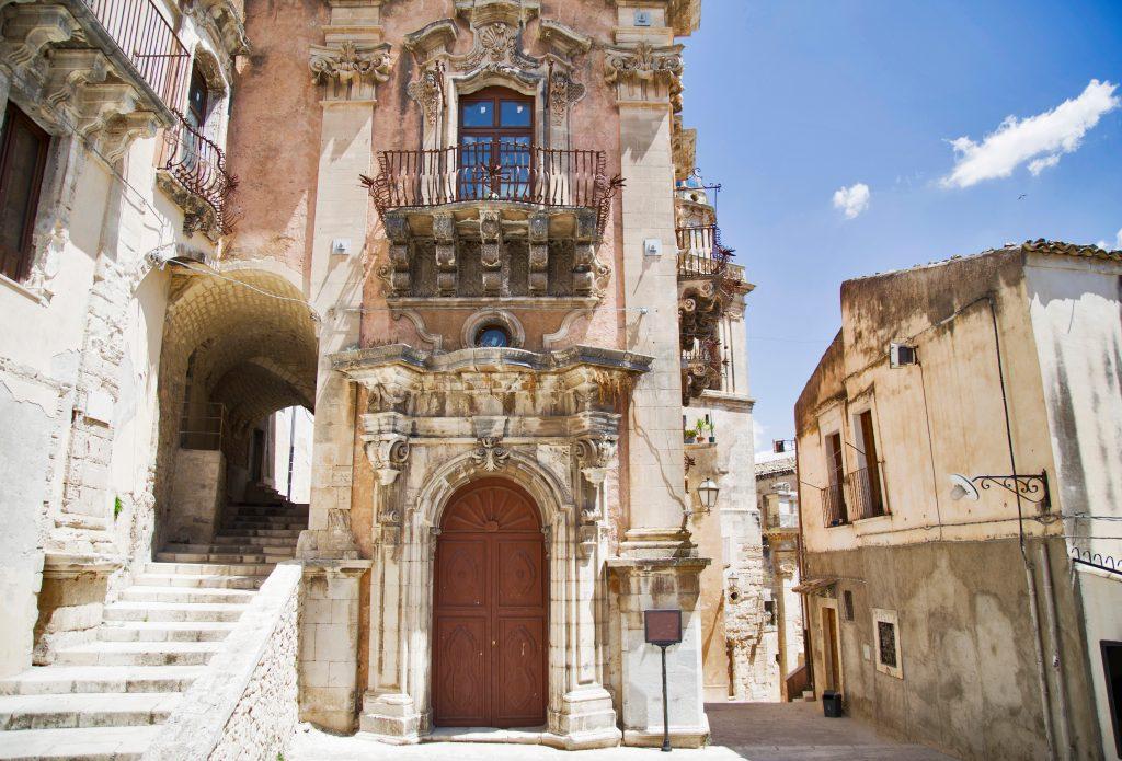 view ragusa unesco heritage town