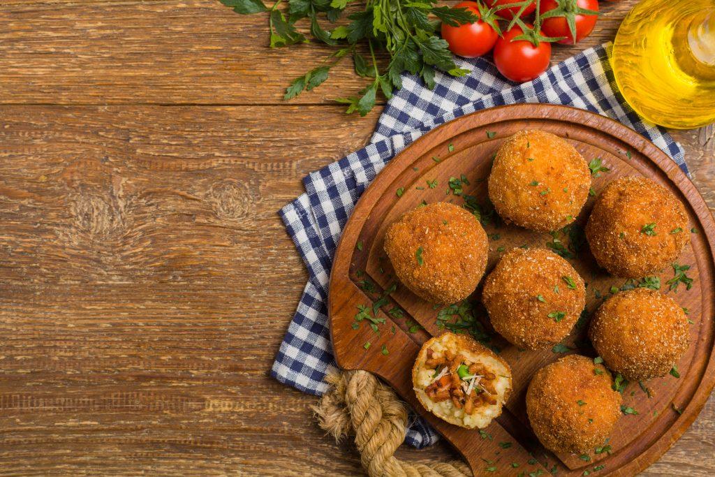 arancini piatto siciliano