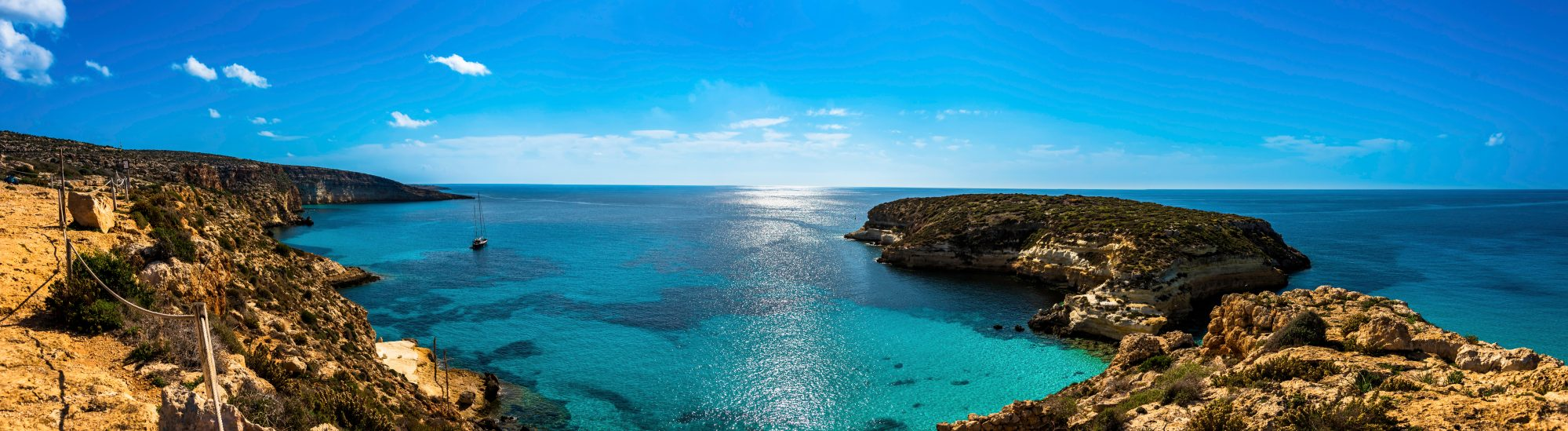 L'isola di Lampedusa